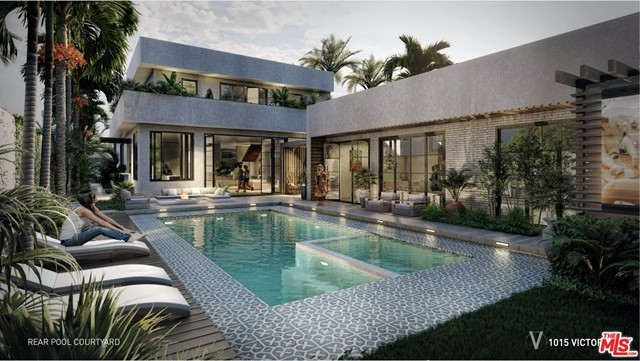 Extremely rare opportunity to build this one-of-a-kind, permit-issued dream home. The 5400 sq ft 5 BR / 7 BA contemporary zen residence w/ ADU & street-to-alley access is sited on the largest lot in all of Venice. The proposed Tulum & James Perse-inspired finishes perfectly blend warmth, tranquility, & the Venice beachy & artsy vibes w/ natural materials & textures such as European White Oak, natural stones & tropical landscaping. Waste no time with Coastal Commission or Building & Safety, as this property comes with RTI / ISSUED PERMITS. Existing ~3500 sq ft structure on the property allows for financing with more favorable terms than ground-up construction. Walk or bike to Erewhon, Whole Foods, the ocean, Abbot Kinney, Main St, and all of the restaurants, entertainment and nightlife Venice has to offer. Truly a once in a lifetime opportunity to build an impressive home all while having healthy equity margins from a developer perspective. Don't hesitate to make a move on this masterpiece to be, before the owner changes their mind and builds it themselves. Digital renderings shown.