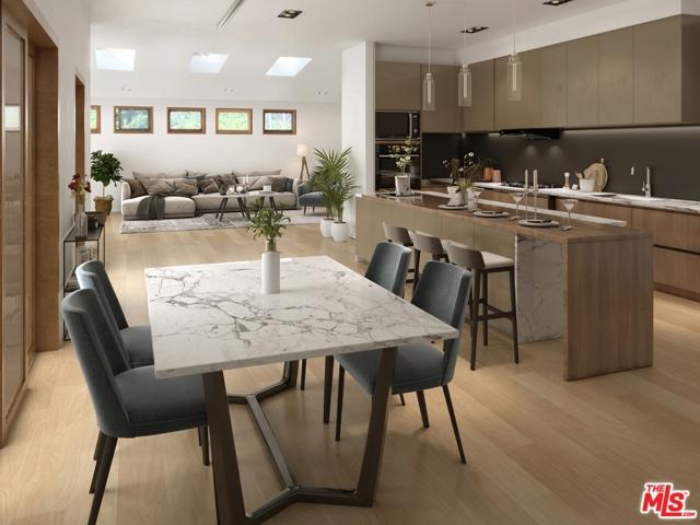 Kitchen / Living Room Render