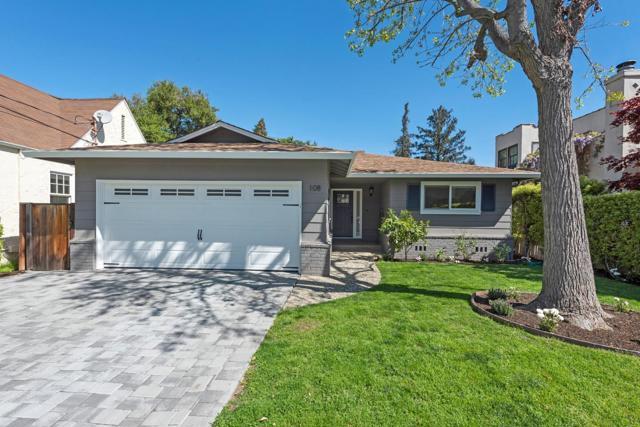 108 Clover Lane, Menlo Park, CA 94025