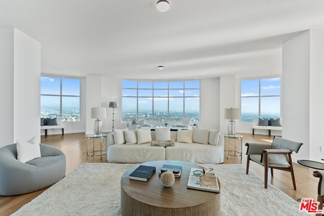 The very last unit available for sale by the developer. This Penthouse encompasses a half floor with private elevator lobby, downtown views and ocean views, master bedroom with two baths and terrace, two bedrooms with en-suite baths, great room with two terraces, library, and eat-in kitchen with terrace. The Century, a 42-story masterpiece, developed by Related Companies and designed by Robert A.M. Stern Architects, presides above four private acres of lush gardens with outdoor dining rooms, fountains, walking paths, 75 ft. lap pool, cabanas, Equinox design gym, Pilates studio, spa, yoga studio, screening room, dining room, bar lounges, wine cellar, conference room and children's playroom. To further add to estate living there is a 24 hour guard gate, valet, doorman and concierge. . Also the on-site restaurant, Hinoki & The Bird, offers in-home dining and catering for private parties in the Century gardens.
