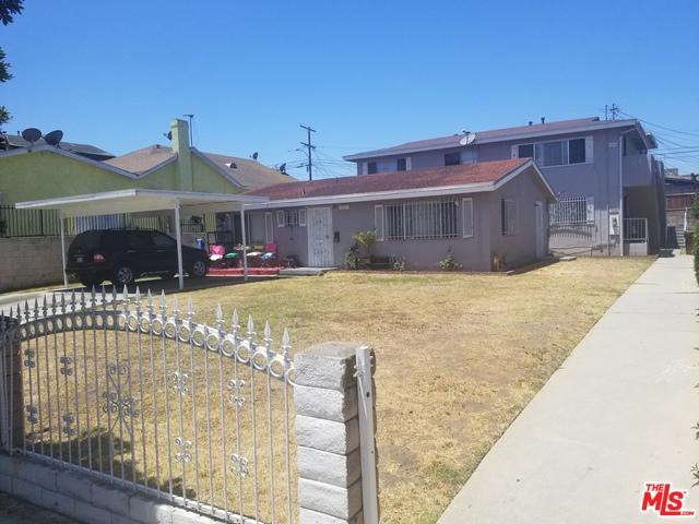 11123 VAN BUREN Avenue, Los Angeles, CA 90044