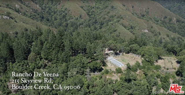 215 Skyview Road, Boulder Creek, CA 95006