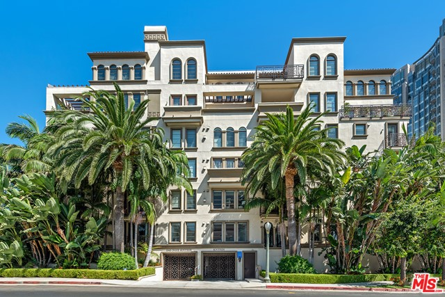 Special opportunity to purchase a unit in Wilshire Corridors Venezia.  This low rise, boutique building of 25 units rarely has a unit available.  Come inside this beautiful European Building and experience the carved ceilings, Banquet room with Venetian chandeliers & fully outfitted gym.  Theres always a valet to meet you when you arrive in the parking garage.  The elevator has controlled access.  There is also a Rooftop deck with ample luxurious seating, bar-b-q and wonderful views.  The unit itself is west facing and extremely light and bright.  Two bedrooms and two and a half baths, completely remodeled.  Theres also a cozy den that could be a home office.  Spacious master suite includes a huge bath and a spacious walk-in closet.  Cooks kitchen, recessed lights, stunning new wood floors throughout.  Architectural glass separating the living and dining areas. Located nearby shops, restaurants and houses of worship.  Warner Ave Elementary School.  Also offered for lease at $6,000/mo.