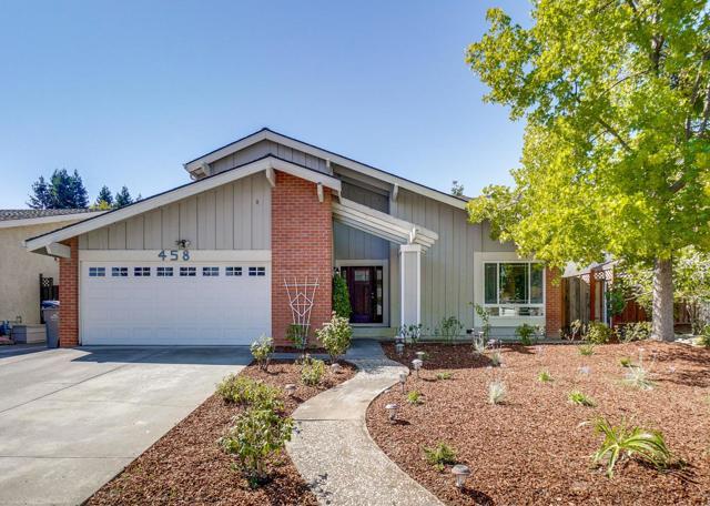 458 Curie Drive, San Jose, CA 95123