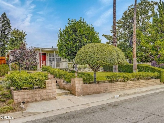 First time on the market in 27 years!!! Do not miss this unique opportunity to own this charming TURNKEY treasure of a home in the highly sought out neighborhood of Crescenta Highlands (in the Crescenta Valley). This remarkable 3 Bedroom 1 Bathroom Home includes a bonus half bath and bonus room.  Home is situated on a double Cul-de-Sac and the property stretches street-to-street (Maryann St) lot. Pride of ownership is an understatement.  As you walk up off the street you will notice the carefully manicured landscaping, with rose bushes adorning the steps leading to the covered front porch.  Upon entering the home, you will be greeted by the abundance of natural light in the Living Room that is highlighted with tile floors, crown molding, wooden shutters, and recessed lighting.  The beautifully updated kitchen boasts custom cabinetry, granite countertops, recessed lighting and dining area.  Walk down the hall to the fully updated bathroom with tile floors and glass shower doors.  All bedrooms have carpet and their own closets.  Enter into the large Bonus Room that is currently being used as a laundry room and storage.  Could be used as a gym, home office, rumpus room or storage and has access to backyard.  Continue into the large Family Room and you will find vaulted ceilings, natural gas fireplace, wooden shutters, tile flooring, ceiling fan, and sliding glass door leading out to the open patio.  Outdoor slab patio is private and has a built-in brick BBQ.  The backyard is also landscaped with grass and flower beds.  Delicious lime tree in yard.  Detached & finished 2-car garage with off-street entry is equipped with a large amount of cabinet space for storage and a Bonus Half Bathroom.  Systems include: Newly replaced AC unit, Tankless Water Heater, Copper Plumbing throughout, automatic sprinkler system for grass + a New RING video doorbell w/chiime.  Part of the Glendale Unified School District in Crescenta Valley with access to many distinguished schools. Easy acc