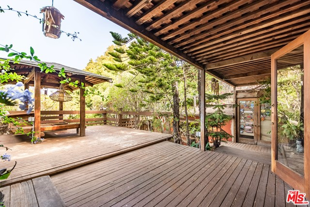 First time on the market in 35 years.  Trust sale. Developers and end users, come create your dream home with views.  Quiet neighborhood with charming home on 6500+ square foot lot.  Close to the Palisades Village and easily walkable to all that the Palisades has to offer.