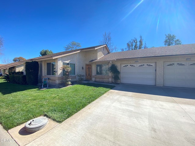 Here is a great opportunity to make this home just the way you want it!  This is an Amalfi model located in Leisure Village, Camarillo's Premier Senior Community.  This home has updates since the original build but most of them are from a number of years back. The kitchen was updated, the windows are upgraded and there is a very nice, large enclosed patio.  The Amalfi model features two bedrooms and two bathrooms with a formal dining room and den.  There is direct access to the garage from the kitchen. The enclosed patio left room for outside sitting too.