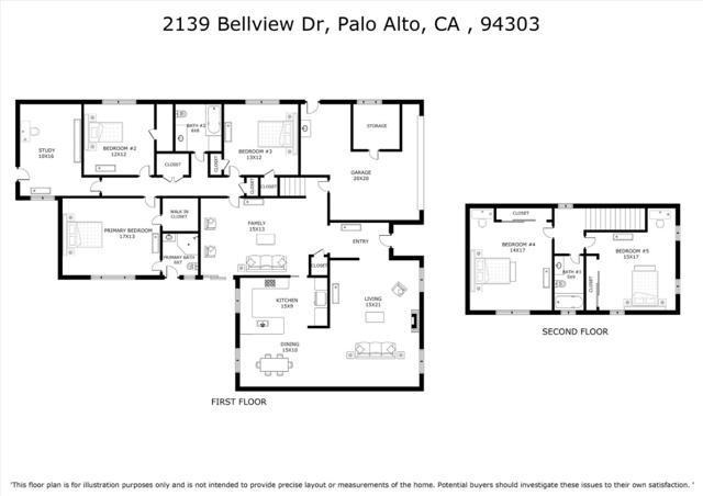 42. 2139 Bellview Drive Palo Alto, CA 94303