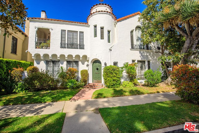 Exquisite 1920s Spanish Style Triplex situated in prime Los Feliz area! Located on one of the most desirable streets filled with character and charm! Magical entryway welcomes you to three beautiful apartments offering 8 bedrooms, 6 bathrooms, and approximately 6,000 square feet! First unit on the main floor is 2 bedrooms, 2 bathrooms, and approximately 1,300 sq. ft. Second unit is the only two story apartment offering 3 bedrooms, 2 bathrooms, and approximately 2,300 sq. ft. Spectacular spiral staircase leads you to the third unit located on the top floor which is 3 bedrooms, 2 bathrooms, and approximately 2,400 sq. ft. Original wood flooring, striking beamed ceilings, and d'cor inspired by centuries-old Spanish tile designs with stunning colors and a timeless look! Charming center courtyard shared by all tenants, spacious backyard and patio area great for entertaining. Three car detached garage with possible opportunity to convert to an ADU. All units have laundry facilities, water heaters, and new heating units/ducting installed in 2020 with the capability to add central air. Neighborhood borders the well-known Griffith Park, adored by locals for its hiking, concerts at the Greek Theater and stargazing at Griffith Observatory. A truly phenomenal triplex in one of the most desirable neighborhoods in Los Angeles!