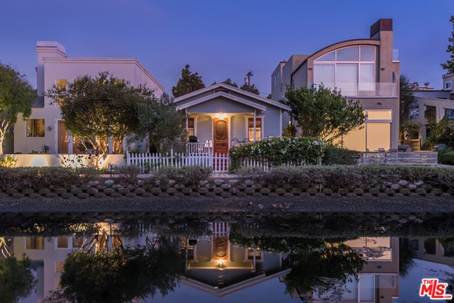 Court Date Has Been Set! Contact Agent. Rare & unique opportunity to own an original 1922 beach cottage Duplex on the Magical & Breathtaking Venice Canals; one of the few remaining examples from this period. There aren't many places in Greater Los Angeles that rival the tranquil & serene vibes of the Canals, & their vibrant display of architectural & landscaping flair. Narrow pedestrian pathways are intertwined with the various sparkling canals & eclectic homes of this special waterfront neighborhood, giving that peaceful & comforting living experience that most homeowners only dream of. Zoned LARW1 & currently a front/back detached Duplex - each unit consisting of 1 Bedroom, 1 bathroom, & approximately 484 SQFT. Charming front porch & rear brick patio. Gleaming hardwood floors, smooth ceilings, quaint kitchens & full bathrooms with stylish claw foot tubs. Close to Abbot Kinney & Venice's trendy shopping, restaurants, cafes & just a short walk to the beach! Priced for Duplex value.