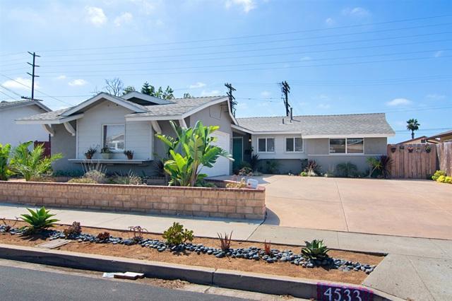 4533 Conrad, San Diego, CA 92117