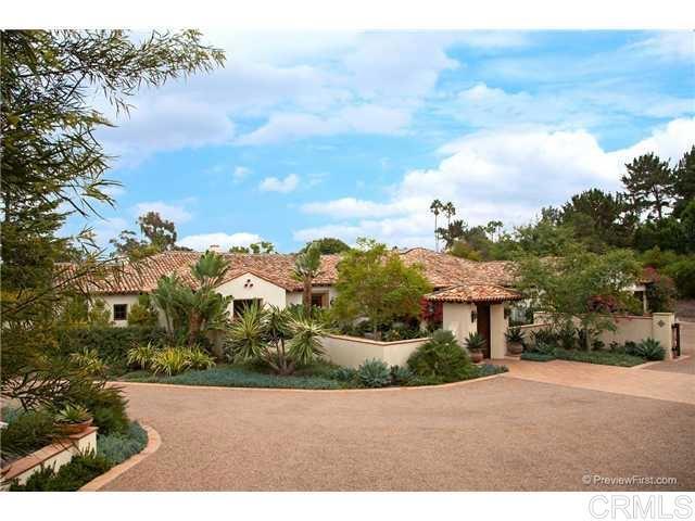 6081 Lago Lindo, Rancho Santa Fe, CA 92067