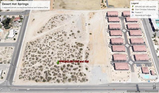 0 Verbena Street, Desert Hot Springs, CA 92240