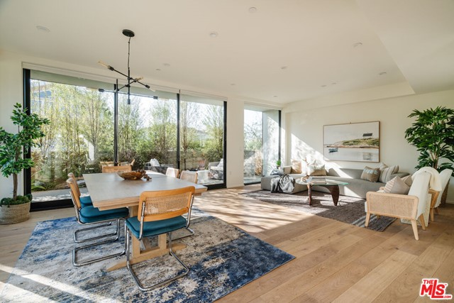Venice lifestyle, Santa Monica amenities. This signature boutique property sits in the highest demand area of Silicon Beach - on the border of the Ocean Park district (Santa Monica) and Rose Avenue district (Venice). No expense has been spared, the gourmet chefs kitchen features Miele appliances, custom built walnut cabinets, and a large walk-in pantry. The wide plank oak flooring and floor to ceiling windows bring the outdoor in and creates a serene, relaxed feel perfect to entertain and unwind. Enjoy the luxury and convenience of private oversized subterranean 2-car garages.