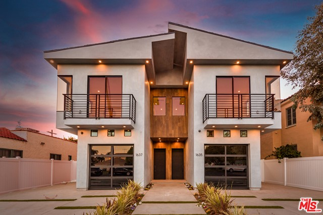 BEAUTIFUL brand new construction duplex / town homes in a central locale! This ONE OF A KIND STUNNER will not last long!! Only steps from the Pico-Robertson hub, Beverlywood, Beverly Hills, and Century City, and close to some of the finest shopping, restaurants, and places of worship. Each unit consists of around 3,300 square feet per unit, with 5 bedrooms and 4.5 bathrooms. An entertainers delight, the rooftop deck features two separate entertaining spaces, with outdoor kitchen and TV hookups. The first floor features a gorgeous powder room, one-car garage access, a CUSTOM CHEFS KITCHEN featuring two sinks, HIGH QUALITY appliances, quartz counters, large center island, abundant cabinetry, and BEAUTIFUL Fleetwood sliding doors that lead to a cozy backyard. Natural light is abundant throughout making each unit feel EXTREMELY SPACIOUS home-like. Each bedroom has its own AC control, en-suite bathrooms, and HIGH QUALITY custom closets and woodwork. HIGH-END craftsmanship and finishes with great attention to all details. Property has a video surveillance system as well as a smart home system. GREAT INVESTMENT or OWNER-USER opportunity, live in one and rent the other to cover your monthly expenses. The opportunity to own this beautiful unique duplex is NOW!