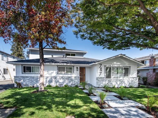 747 Calla Drive, Sunnyvale, CA 94086