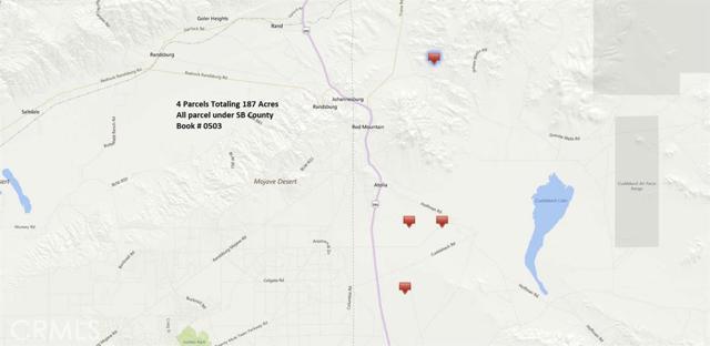 503041 Cuddeback, Kramer Junction, CA 93516