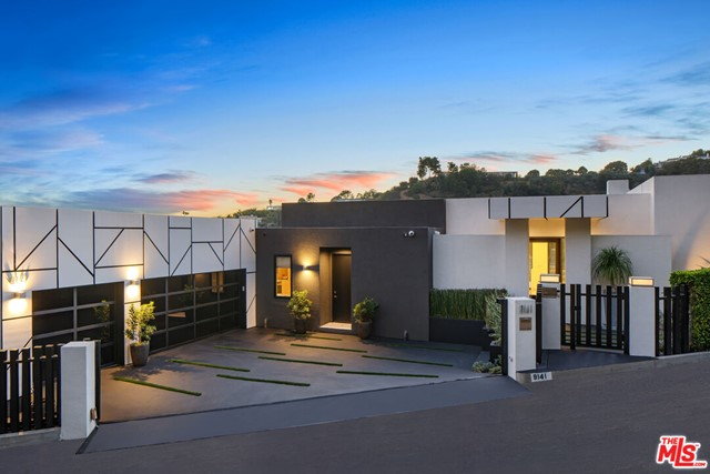 Spanning over 6,500 FT w/ views from Century City to Ocean- Best value & highest quality, 3M+ remodel top to bottom, just completed. Set on arguably the best cul de sac in the bird streets, gated & secure w/ 3-car garage & parking for 6. Architectural compound w/walls of glass & doors that seamlessly fuse the interior & exterior spaces. INCREDIBLE VOLUME- 12 ft ceilings & open floor plan w/approx 2500 SQFT covered outdoor space & designer details including limestone floors, custom lighting & gallery walls. Soaring great room w/ fireplace & bar opens to a huge outdoor entertaining space that hosts a dazzling pool & spa. Formal dining rm & gourmet Poggenpohl kitchen includes sleek professional appliances. Take the elevator to the guest bdrm suites w/shared balcony & office. The master suite includes a fireplace, huge gorgeous master bathroom, custom boutique walk-in closet, bar/coffee station, & private zen garden. Lower lvl features theater, climate controlled wine room & gym.