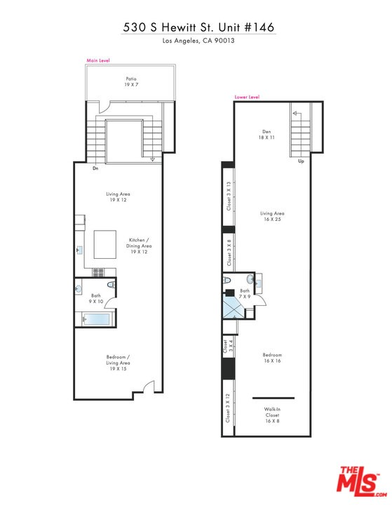 Floor Plan Unit 46