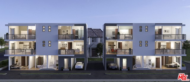 5.71% Pro Forma CAP Rate in OPPORTUNITY ZONE. 5542 Romaine is a 2021 newly constructed Fourplex in the hottest rental markets in LA. Located in the best part of Opportunity Zone; Hollywood, this is NOT your average new construction. Boasting almost 8,500 SF of vast living space (approximately 2,000 SF each unit) with an en-suite in each bedroom achieving both privacy and immense living experience, this is truly the high-quality professional tenant's number 1 pick amongst all the others. This area typically commands higher rental income due to the close proximity of ever-growing Netflix, The Paramount studio, and entertainment industry employers and offices. This part of Hollywood is also located right above prestigious Hancock Park and Larchmont Village making it even more attractive and convenient to young professionals and Millenials. Owner occupier's DREAM. Live in 1 unit while your neighbors pay your mortgage. This one totally screams investor's attention.