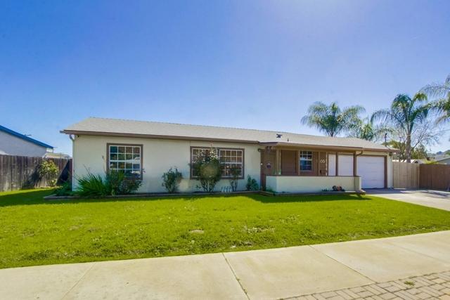 1405 Sunnyland Avenue, El Cajon, CA 92019