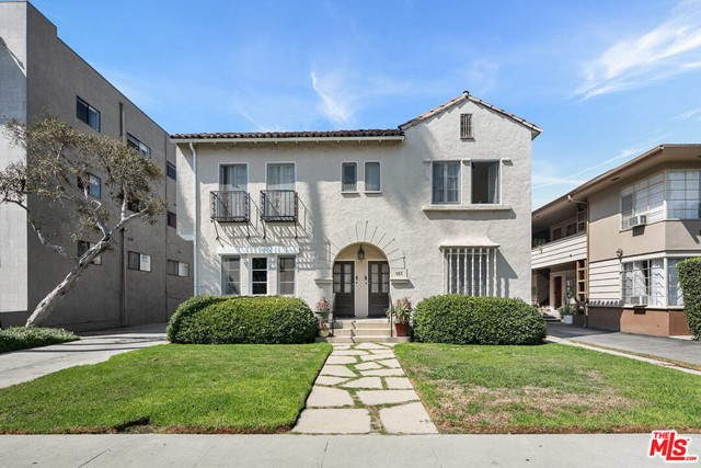 We are excited to exclusively offer for sale for the first time in two generations, 123 N Hamilton Drive, a charming Spanish-style 6-unit apartment building in a phenomenal Beverly Hills location.  Situated around the corner from the future Wilshire/La Cienega Metro station, the property is walking distance to the SLS Hotel and Restaurant Row (GyuKaku, Matsuhisa, Lawrys the Prime Rib, Fogo de Chao); Walkscore of 91.  Units feature arched entryways, hardwood flooring, beautifully renovated kitchens and bathrooms, in-unit washer/dryer hookups (except 2 units), and upgraded electrical and plumbing. Property is PART OF A BEVERLY HILLS 5 PROPERTY PORTFOLIO totaling 28 units for $15.1M, all located within minutes of each other (can be purchased together or individually). The Portfolio offers an attractive selection of studios, one- and two-bedroom units.  ALL PORTFOLIO ADDRESSES ARE: 141-143 S Bedford Dr, BH 90212 (6u); 8918 & 8924 Burton Way/332 N La Peer, BH 90211 (9u); 123 N Hamilton Dr, BH 90211 (6u); 218 S Gale Dr, BH 90211 (7u).  See PRIVATE REMARKS for website.  Rents shown are averages; Full rent roll in Offering Memorandum.  Tenant Occupied - Please DO NOT DISTURB TENANTS or Walk the Property without an appointment.