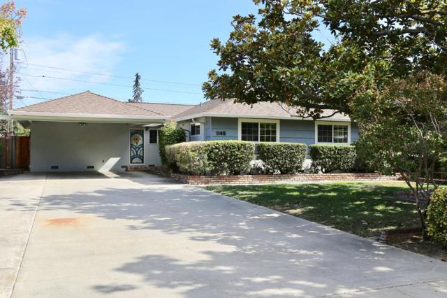 1145 Bennington Drive, Sunnyvale, CA 94087