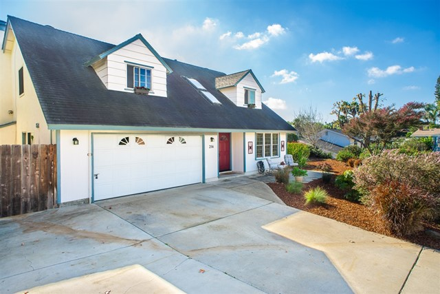 "IN-LAW SUITE/RENTAL! PAID SOLAR! This beautifully maintained home features five spacious bedrooms,  upgraded bathrooms & kitchen, stainless appliances, laminate flooring and an open floor plan.  Easily head to  backyard oasis with pool, jacuzzi, two patio areas and a large storage shed that could be a workshop, ""SHE"" shed or playhouse!     Situated on a cul-de-sac street that has country-like privacy but is close to the 78, shopping, beaches and entertainment! VERSATILITY AT IT'S BEST!  This home represents the California Indoor/Outdoor lifestyle at it's best!  Plenty of privacy for family or large group entertaining. The beautifully maintained pool is plaster with fiberglass coating, very durable. Lush tropical landscaping provide a relaxing ambiance.  Your vacation place is here!  The 5th bedroom/in-law suite is a garage conversion. A door was added to the  family room so that it  has the potential to be a private living area for the in-law suite or used by the entire family.  The area also has the potential to be a rented as a studio or a small apartment with the family room area included or not included!   The garage conversion was completed by a licensed contractor without permits. Buyers to verify. There is no parking in the garage. Remaining area is laundry room and storage area. Parking is in driveway, 3 vehicles; additional parking on street in front of the home..  Neighborhoods: Voge Vista Villas Equipment: Garage Door Opener,Pool/Spa/Equipment, Shed(s) Other Fees: 0 Sewer:  Sewer Connected Topography: LL,"