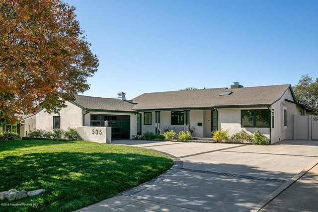 505 Cliff Drive, Pasadena, CA 91107