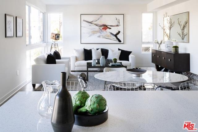 Spacious open floorplan