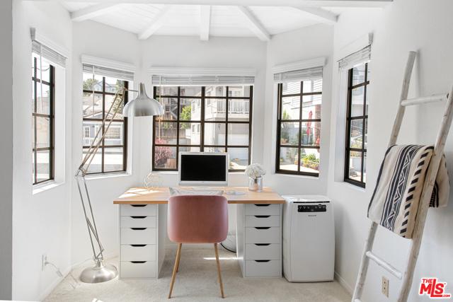 Office Nook inside Master Bedroom