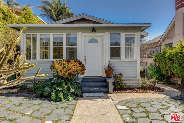 Endless opportunities in this prime Venice location close to Abbot Kinney and the beach. Enter through a tall-hedged wall to this private garden compound with two homes each with their own entrances. The front house is a quintessential beach bungalow with 2 bedrooms, 1 bathroom, hardwood floors, an enclosed sun porch, large open kitchen and laundry room complete with sun soaked front and back yards. The rear 1 bedroom,1 bathroom has a Spanish vibe with terracotta floors and includes its own private outdoor area perfect for BBQs and al fresco dining. The entire property is delivered vacant. Rents are projected. Make this compound your very own or have a sweet investment for years to come!