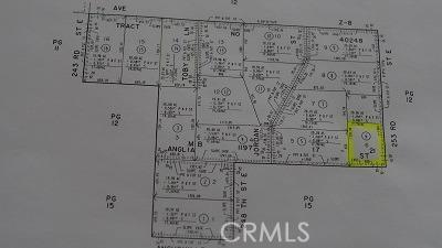 0 COR ANGLIA ST 253 STE DR Drive, Llano, CA 93544