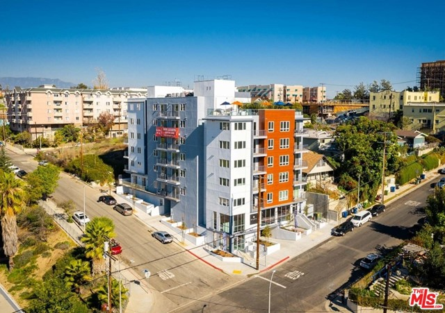 INSPIRE COLTON is a newly built 47-unit lifestyle community centrally located in the trendy Echo Park neighborhood of Los Angeles between downtown LA and Silver Lake. The brand new construction was completed in February 2021 and is not subject to rent control. Standing majestically on a hilltop at a towering 8-stories tall, the community offers an abundance of natural light and world-renowned views of the downtown LA skyline and the famed Hollywood sign. The unit interiors feature a fluid design with contemporary features, including energy efficient stainless-steel appliances, smart thermostats, keyless entry, and designer finishes. Amenities include the Sky Lounge; an expansive rooftop deck with numerous entertaining areas featuring firepits and an outdoor kitchen; a fitness center with views; and evening stargazing opportunities. Offering an active, enriching and adventurous lifestyle, Inspire Colton is walking distance to Echo Park Lake, Echo Park Indoor Pool, Echo Park Tennis Courts, Echo Park Branch Library,, and the 10.5 acre Vista Hermosa Natural Park. Attractive Pricing: Appx $525,000/Unit; 4% Cap (Currently in Lease Up); & Over 5% Cash-on-Cash. Addtl APN: 5160-011-019. Financials and Rents Shown are Stabilized Proforma Rents - Building CURRENTLY IN LEASE UP; 4 ELI Units. See Private Remarks for Virtual Tour and OM Links.