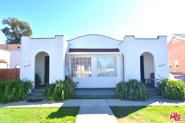 4806 8TH Avenue, Los Angeles, CA 90043