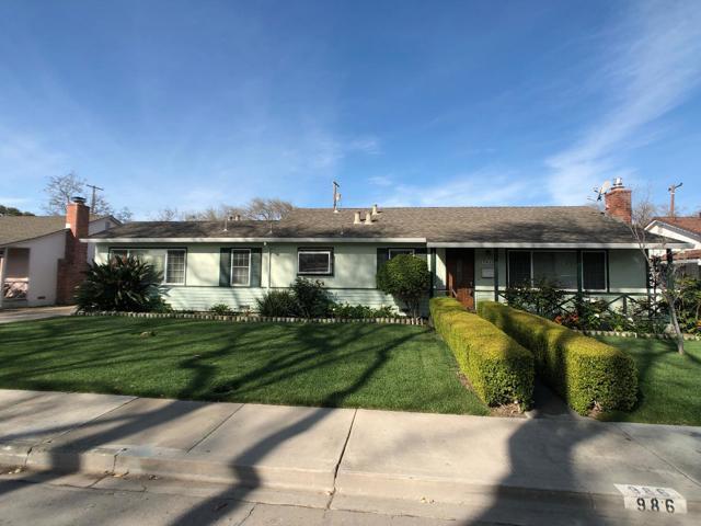 986 Elizabeth Drive, Santa Clara, CA 95050