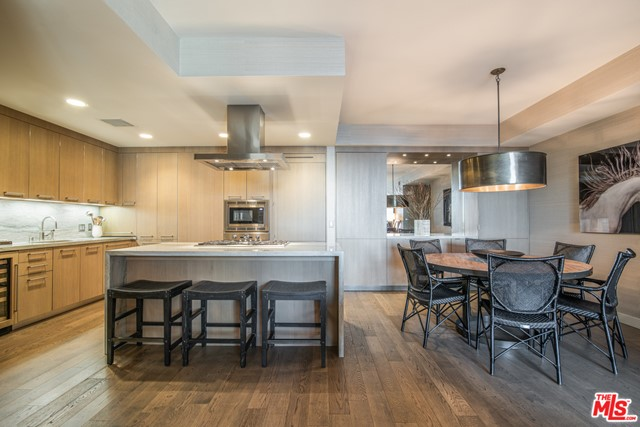 Located in the heart of Santa Monica, ideally located one block from the beach and two blocks from the pier sits this stunning condo at The Seychelle with Pacific Ocean views. Offering the best of coastal living and city living, The Seychelle features a secure and gorgeous attended lobby with a 24-hour concierge and a doorman. This two bedroom and two and a half bathroom condo was beautifully designed with timeless interiors by Madeline Stuart. Features include built-in cabinetry/storage, wine fridge, beautiful wall coverings in every room, private Tesla charger, large storage area in parking garage, two parking spots, washer/dryer and is available fully or partially furnished. Additional building amenities include a fitness center, yoga studio, pool, Jacuzzi, cabanas, pet spa, bicycle storage, BBQ area and sun deck. Enjoy California living at its absolute best.