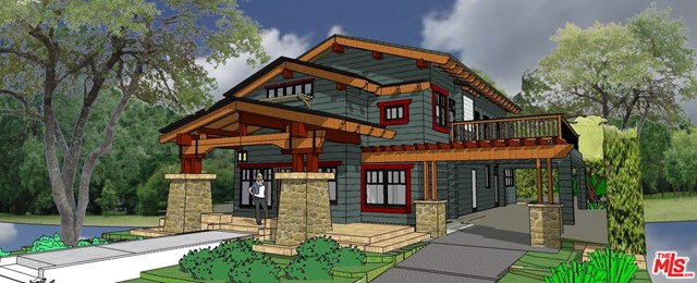 Rendering of New House
