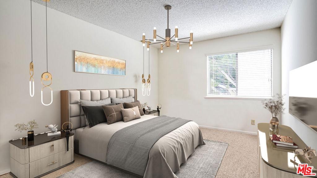 Master bedroom Virtual Staging