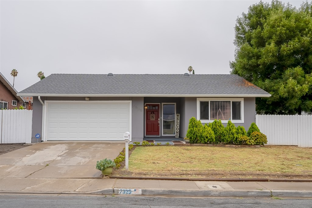 Beautiful well cared for home with new roof, new AC and paid for solar. This home has it all. 4 bed 2 bath 2 car garage. Upgraded kitchen with granite counters. Laminate flooring. Remodeled bathrooms. Original windows have been replaced vinyl windows. Large yard with nice patio for entertaining. Vinyl storage sheds for your tools or toys . Spacious side yards on both sides of the home. Just minutes to Coronado Island, downtown and beaches..  Neighborhoods: Meadowbrook Other Fees: 0 Sewer:  Sewer Connected