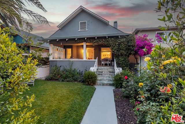 What you need to know about this wonderful property: This beautiful craftsman with large front porch overlooking nicely landscaped yard is steps from the beach. Updated but still with a lot of original charm, this light, bright, 3-bedroom, 2 bath home has a 3-car garage as well as attic and basement storage space. The oversized master bedroom upstairs has a perfect area for an office. Open and spacious kitchen with pass through area to dining room makes it a perfect home to entertain those guests.  // What our sellers love most: The covered front porch and proximity to the beach.  // This homes personality is: Light, bright, and cozy // Your favorite room will be: The large kitchen that goes out to the back patio.  //   Best time of (year/day): Summer where you can enjoy sitting on the porch or taking a stroll down the walk street to the beach.  // Notable about the neighborhood: Conveniently located to the beach and all the shops and restaurants along Rose Ave.