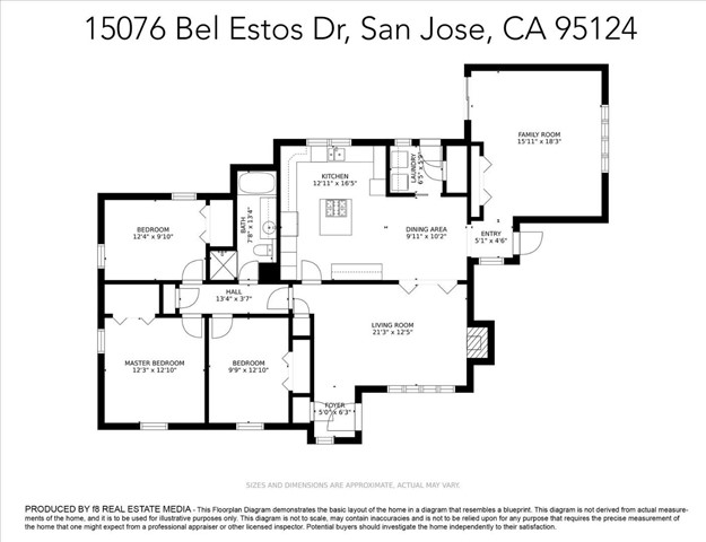 45. 15076 Bel Estos Drive San Jose, CA 95124