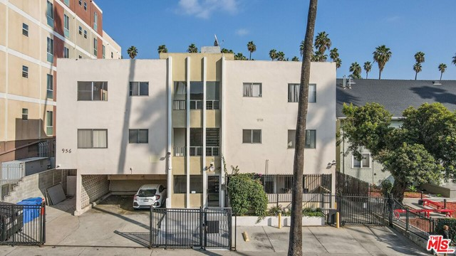 Opportunity to acquire a 14-unit apartment building located in prime Koreatown, one of the most highly sought after submarkets of Los Angeles. The Property is a well-maintained structure with steady cash flow and significant upside potential. The Property has recently undergone some interior and exterior renovations and features a strong unit mix of spacious units - 8 (1+1)s and 6 (2+2)s. 5 out of the 15 units have been extensively renovated, and one large, unrenovated 1+1 unit will be delivered vacant, allowing an investor to immediately upgrade the unit and capture market rent. Renovated units feature high-end finishes including new stainless steel appliances, stone countertops, laminate and tile flooring, new fixtures, beautifully designed bathrooms, new paint, heat and A/C units among other improvements. Also, renovated units have undergone both electrical and plumbing upgrades. Exterior and building upgrades include new exterior paint, security gate, call box, camera systems and water heater. The property is separately metered for electricity and gas, has an on-site laundry room, and 19 parking spaces. Tenants are surrounded by countless amenities including restaurants, bars, shopping, entertainment venues, and local transportation. 956 Elden is a rare opportunity to acquire a well-maintained asset with significant upside potential.