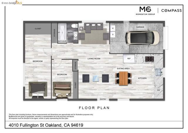 36. 4010 Fullington Street Oakland, CA 94619