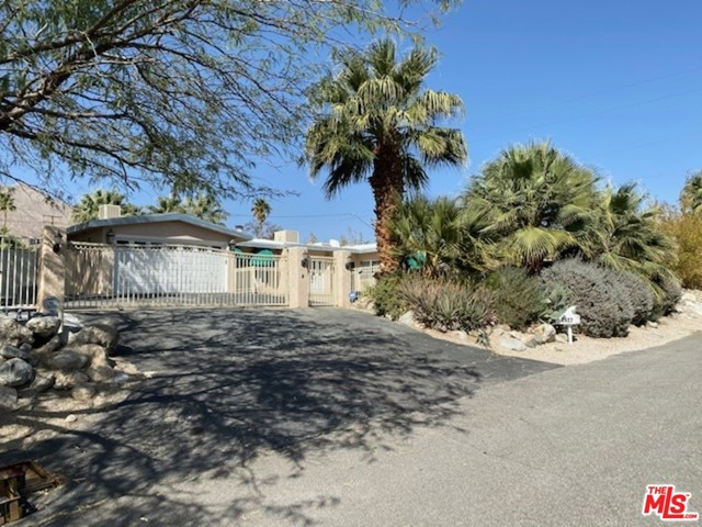 Bring your imagination and vision to this unique property located in the Chino Canyon neighborhood of Palm Springs. This 1,748 sq ft home on a 15,245 sq ft park-like lot with pool/spa and fire pit awaits your creative power to build your Palm Springs dream home, right up against Mt. San Jacinto. Spectacular views from this 1951 hillside estate offer a prospective buyer a first glimpse of what could be! First showings Saturday & Sunday 3/6 & 3/7 every half hour. Offers will be due March 10th at 5pm.