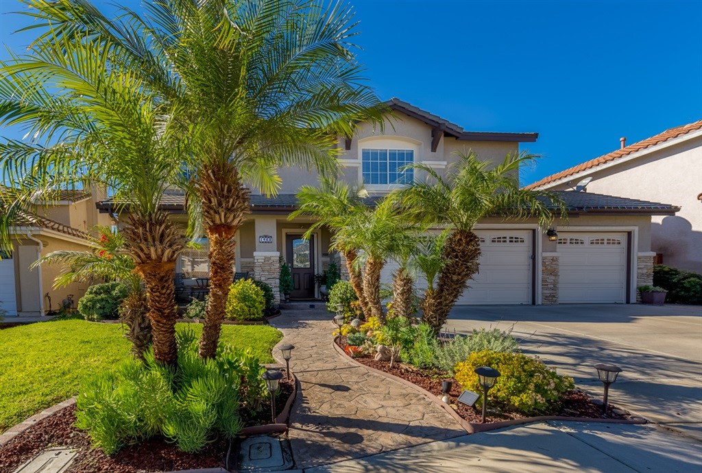 Beautiful Eastlake Greens Home on a quite Culdesac . This home features 2900 Sqft, 5 bedroom 2-1/2 Baths. Upgraded Kitchen, Designer paint and Granite counters. Lush back yard with no neighbors behind. Fruit trees, stamped concrete patio, patio cover and built in BBQ with a sink make this the perfect home for entertaining. Enjoy the HOA pools and resort like facilities, nearby parks, shopping at Otay Ranch Mall and award winning schools ! Just 30 min to Downtown San Diego and Coronado. Neighborhoods: Eastlake Greens Other Fees: 0 Sewer:  Sewer Connected