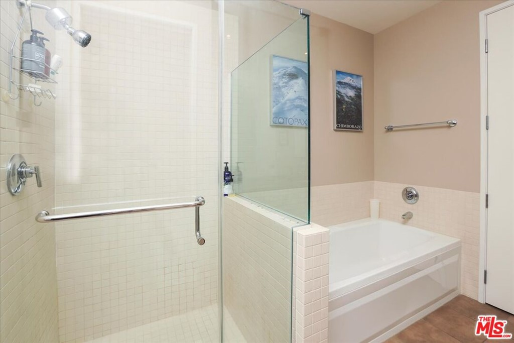 Bathroom 1 - tub and separate shower