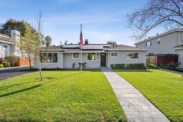 10314 Mira Vista Road, Cupertino, CA 95014