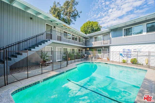 We are pleased to offer this twelve unit courtyard pool complex in the beautiful Pacific Palisades. This is in a prime location with quick and easy access to the Westside. Minutes from the beach, Palisades Village, Third Street Promenade, Venice Boardwalk, and much more. This property epitomizes Southern California coastal beach city. Great unit mix consisting of: eight 1-bedroom / 1-bathroom,two 2-bedroom / 1.75-bathroom, and two studio units.