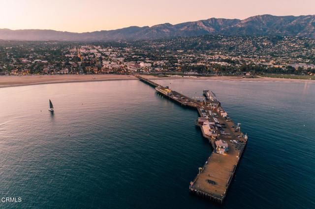Aerial-shot-wharf-and-city-of-SB_5BC1C75